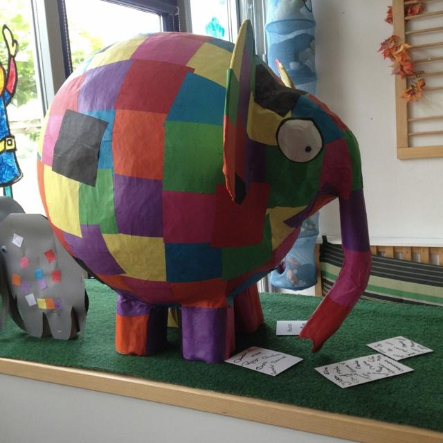 Elmer (created by juf Edith)