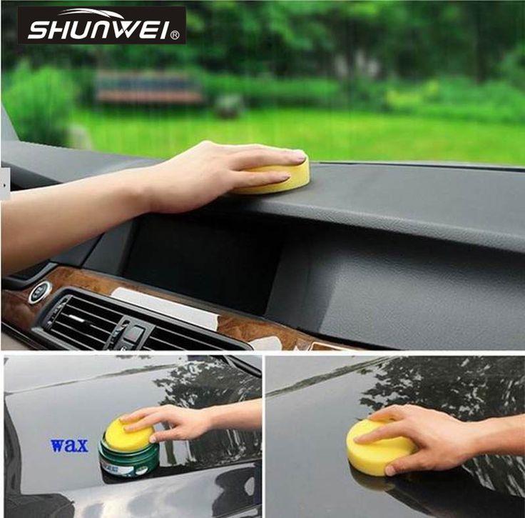 12pcs/lot Wholesale Washing Cleaning Towel Sponge for car car washing sponge Car Waxing Polish Foam Applicator Pads