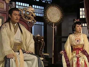 Emperor's brother, second prince and his wife