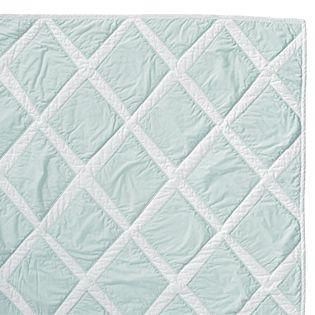 brilliant - Aqua Diamond Quilt: Decor Ideas, For Kids, Beds Quilts, Diamonds Quilts, Lilacs Diamonds, Aqua Diamonds, Child Bedrooms, Guest Rooms, Girls Rooms