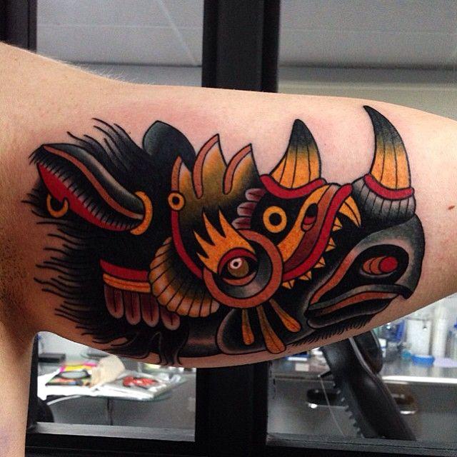 Instagram photo by @montalvotattoos via ink361.com #tattoo #traditionaltattoo
