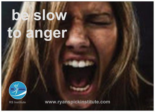 Be slow to #anger