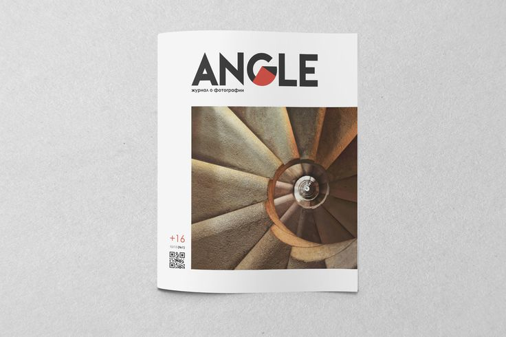 """Ознакомьтесь с моим проектом в @Behance: «Magazine """"ANGLE""""»…"""