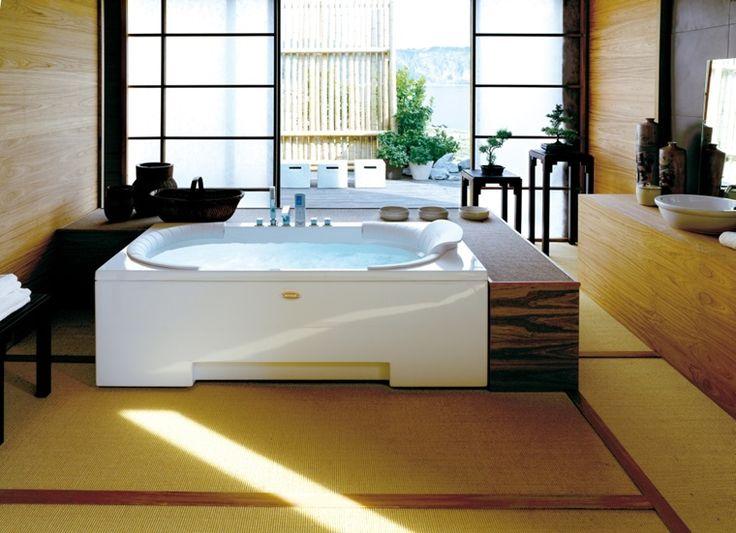 79 best Baignoire Balnéo Jacuzzi® images on Pinterest Bathroom - whirlpool badewanne designs jacuzzi