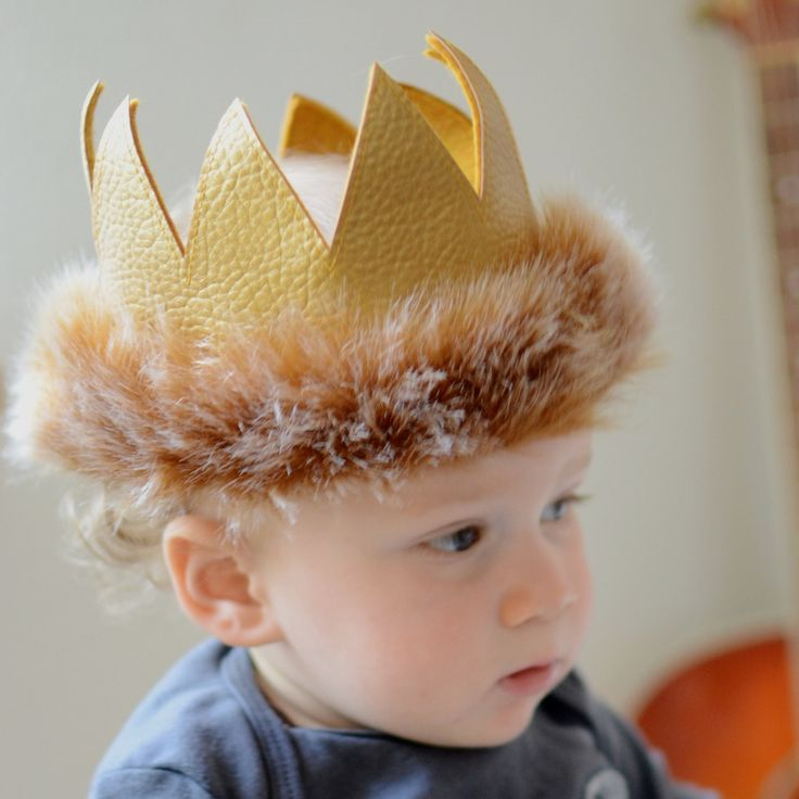 Where the Wild Things Are Crown for baby boy