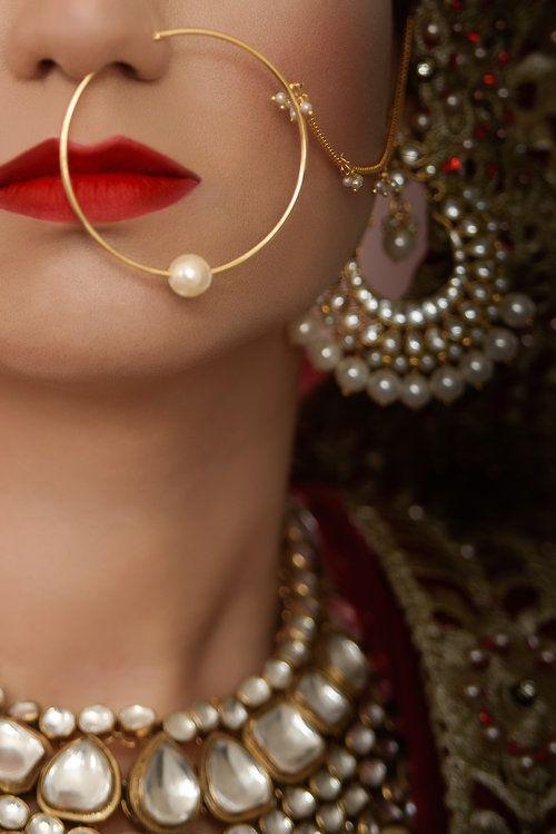 SikhandDread Bridal Details Portrait