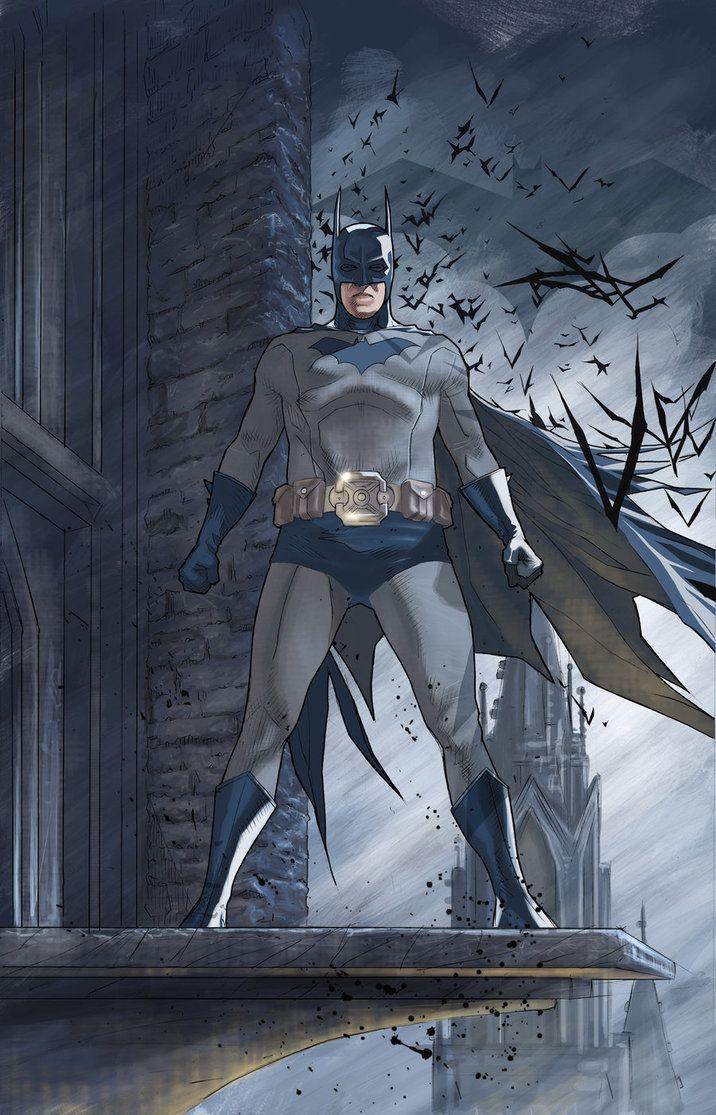 """Batman"" by Bentti Bisson.: Benttibisson, Cities, Comic Book, Dark Knight, Batman Heroes, Batman Universe, Superhero"