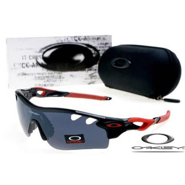 $13 - Cheap oakley free shipping radarlock path sunglasses polished black / black iridium