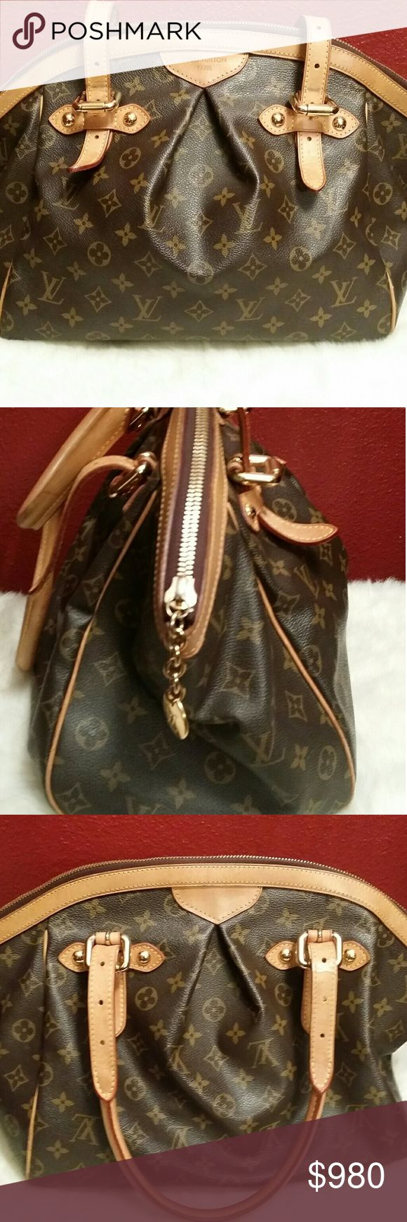 Louis  Vuitton  Tivoli GM Authentic preowned Louis Vuitton Monogram Tivoli in great condition honey patina no major flaws very well cared for. Made in USA. All popping in tact. Interior clean for the most part. Comes with dust bag. No box. No trades. Price is firm. NO TRADES! Louis Vuitton Bags Satchels
