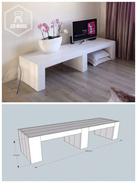 zelf tv meubel maken - Google zoeken