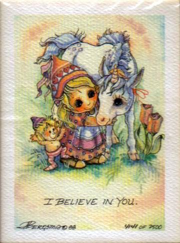 Jody Bergsma (c)  I believe in you