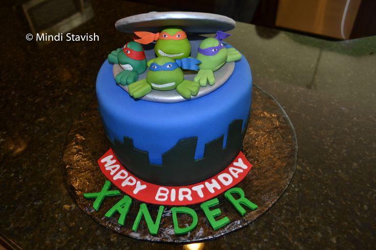 tmnt birthday cake | Teenage Mutant Ninja Turtles Cake Ideas