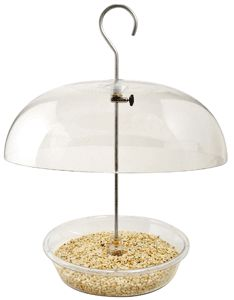 """278   Aspects Vista Dome  Fully adjustable dome height. Lifetime guarantee. 8½ """" Tray. Capacity of 1¼ quarts. 12"""" dome. Stainless steel and solid brass hardware."""