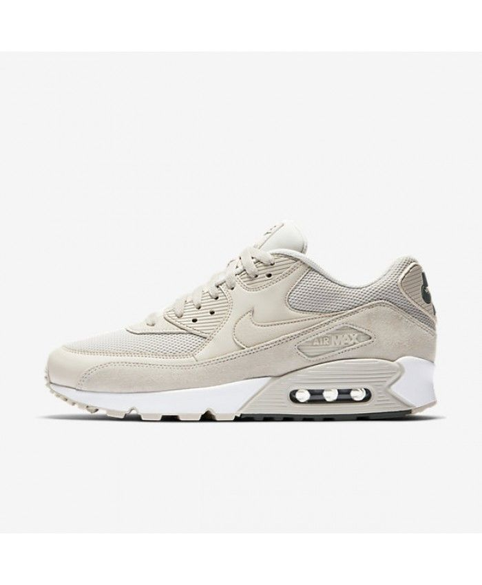 new style c26f7 14722 Nike Air Max 90 Essential Light Orewood Brown River Rock White Light  Orewood Brown 537384-132