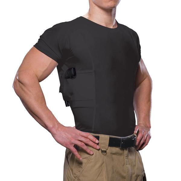Men's Concealed Carry Crew Neck Shirt - UnderTech UnderCover