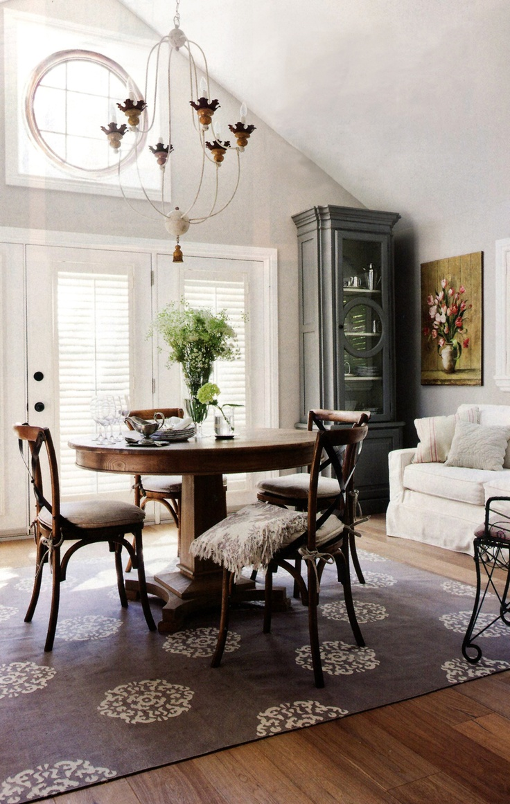 Madeline Weinrib Steel Mandala Cotton Carpet, Via House U0026 Home Magazine