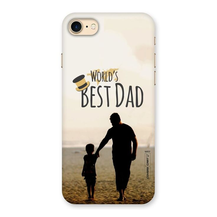 Worlds Best Dad Back Case for iPhone 7 | Mobile Phone Covers & Cases in India Online at CoversCart.com