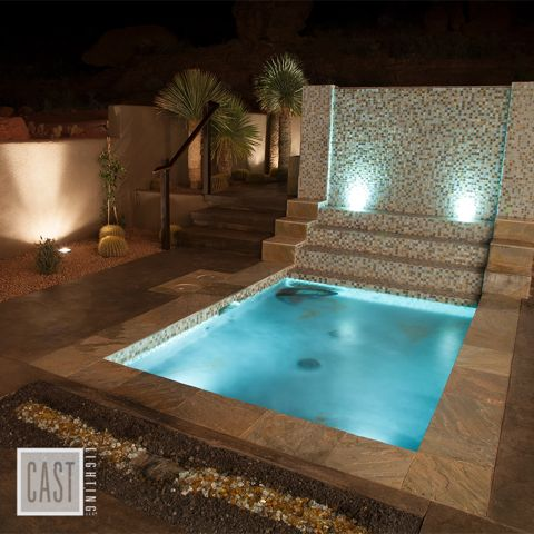 Superb What An Original Pool Design Concept And Water Feature! It Just Comes To  Life At