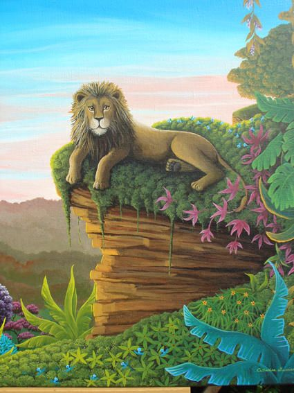Catherine Musnier    The King of the Jungle