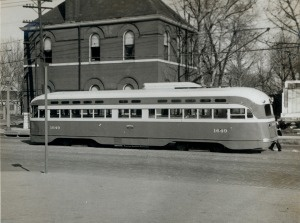 Typical Street Car [St. Louis Public Service Company]. (1946)