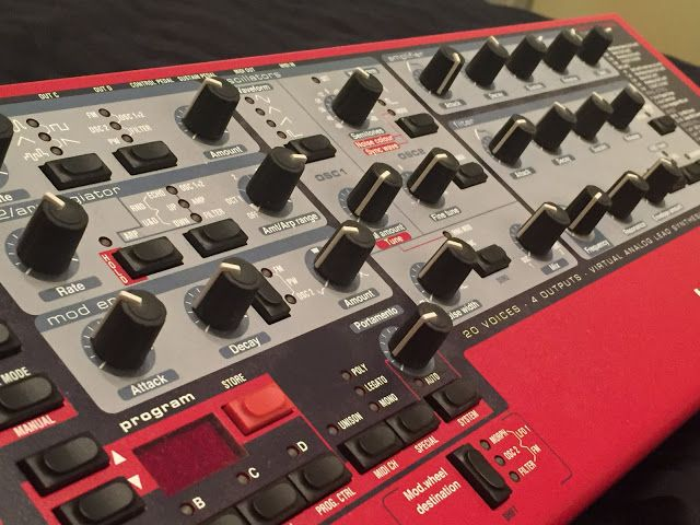 MATRIXSYNTH: Nord Rack 2X Synthesizer
