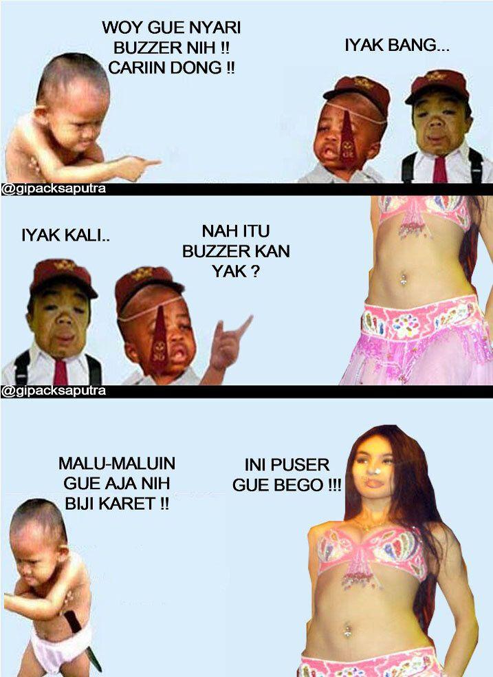 @gipacksaputra: Poh Mat Kosim nyari buzzer ...