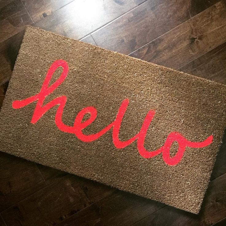 Why, hello there! 😍 https://www.abbottcollection.com/?s=door%20mats&post_type=product