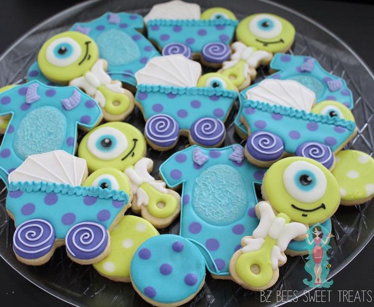 monsters inc baby shower | Cookie Connection