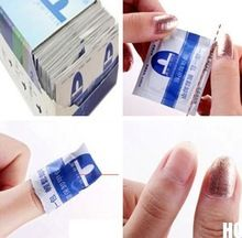 Новый 2015 20 шт. гель лак лак для ногтей фольга легко очиститель обертывания ацетон комплект(China (Mainland))