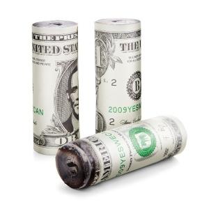 Burn your Dollar - Anzünder für den Grill oder Kamin // #hangover #dollar #bbq #grill