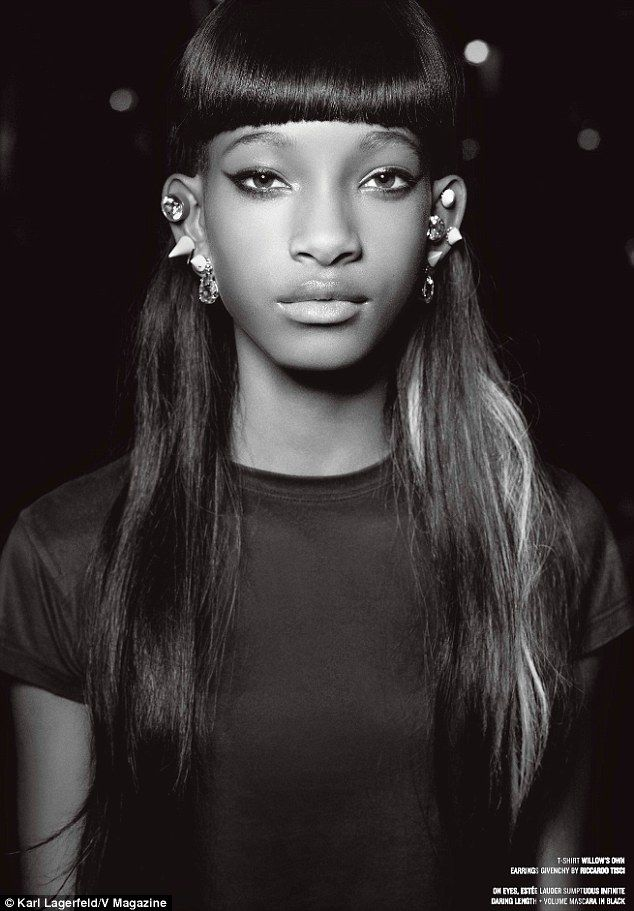 The World According to Willow / photographed by Karl Lagerfeld