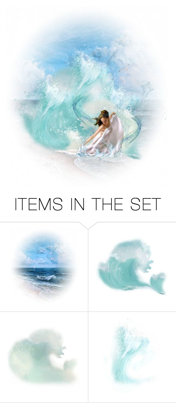 """Saudade do Mar (Missing the Sea)"" by mari-777 ❤ liked on Polyvore featuring art"