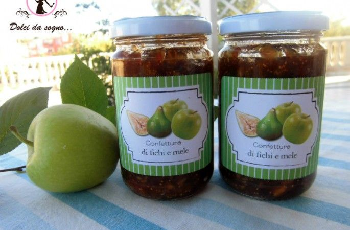 Confettura di fichi e mele
