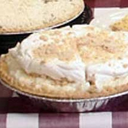 Yoder's Peanut Butter Pie. This was featured on Man Vs. Food and I made it for my husband. Peanut Butter is his fav treat. He adored it! Food-gasm table for one please!