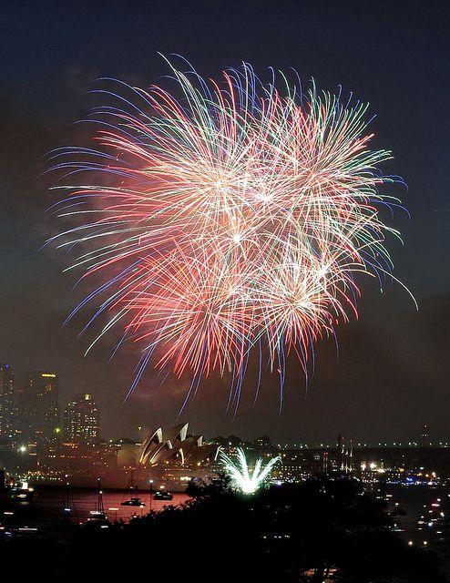Celebrate New Year's in Sydney, Australia.
