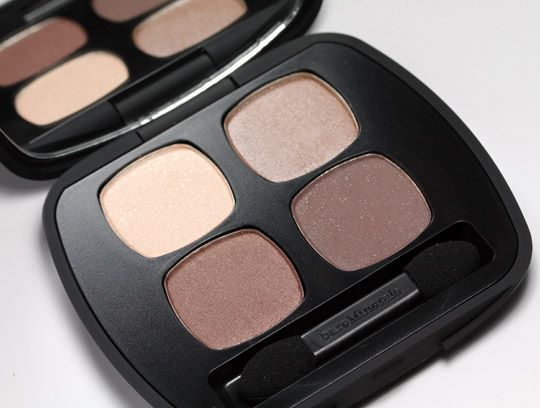 Bare Minerals READY Quad in The Truth. A really great, everyday neutral palette. Good pigmentation and smooth.