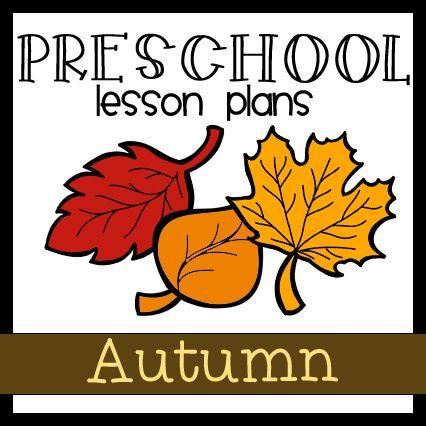 fall preschool theme