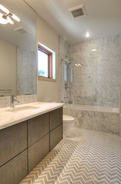 Contemporary Master Bathroom With Kohler K 2382 0 White Kelston 19