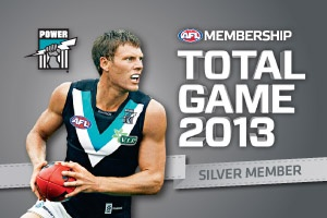 Port Adelaide Club Support Membership Card