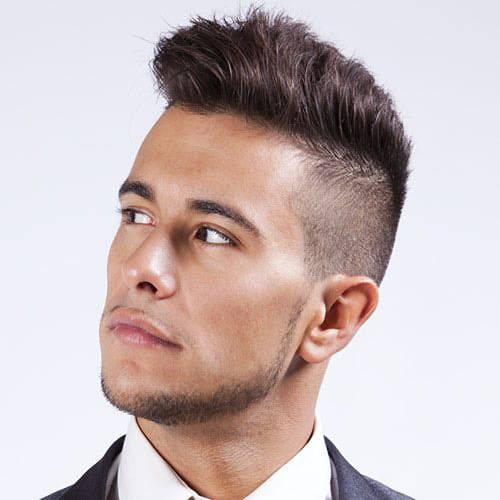 I'm looking at side shaved haircuts to get a better idea.