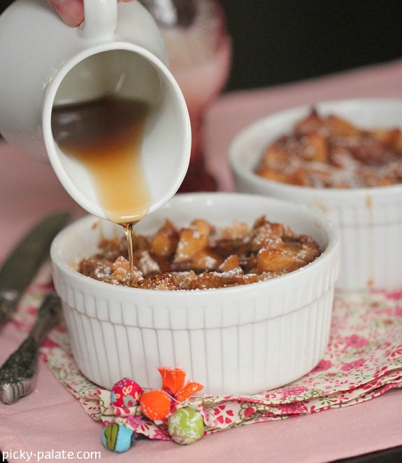 Apples and Spice Cinnamon Bread Pudding .....perfect for winter