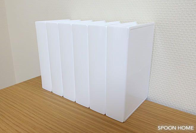 セリア ブック型収納ケース の使い方 本型ケースの収納アイデアをブログレポート 収納 アイデア 収納 収納ケース