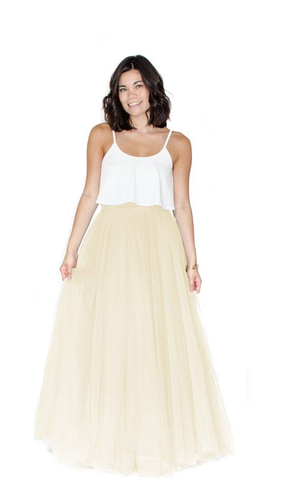 Kimmy Long Tulle Skirt - pasteldress