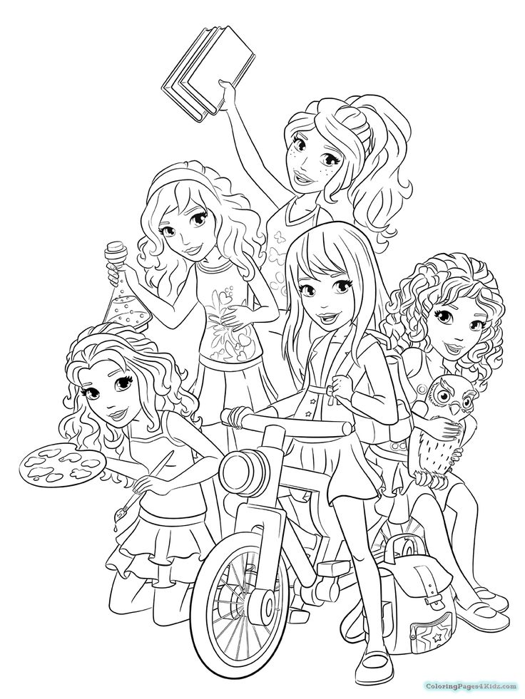lego friends coloring pages  childlife  lego coloring
