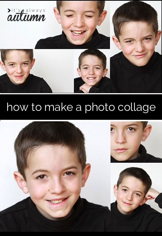 the best and easiest way to make a photo collage in elements