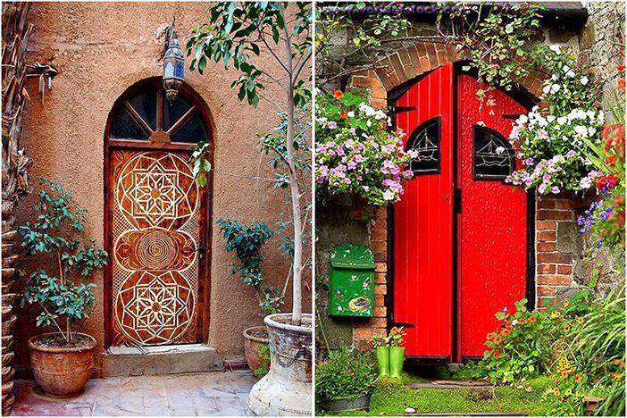Красивые двери со всего мира