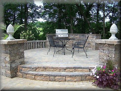 69 best Concrete Slabs images on Pinterest | Garden paving ... on Raised Concrete Patio Ideas id=81294