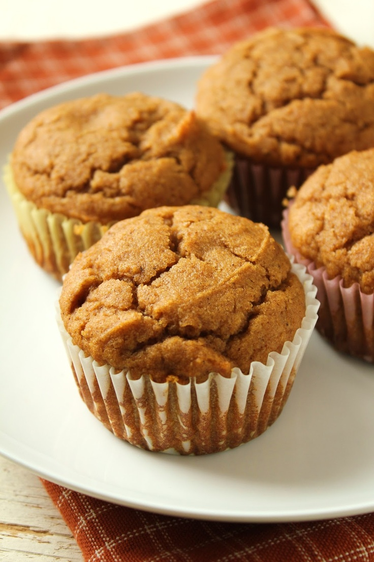Low-Fructose Sorghum Pumpkin Muffins