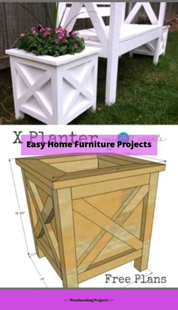 Woodworking Projects With Plans In 2020 Diy Wood Planter Box Diy Wood Planters Outdoor Furniture Plans