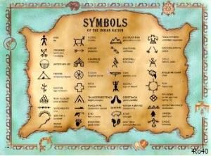 Every culture has developed their own unique symbols and signs over time, and Cherokee symbols are widely recognized language tools that were developed by the Native American Cherokees to portray their beliefs. Cherokee symbols are distinguished as syllabary symbols. by rosa